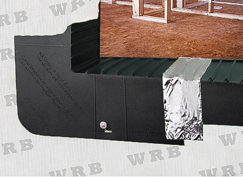 Window and Door Corner Sill Pan Flashing